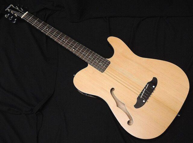 SCHECTER OL-FL SNTL Oriental Line シェクター 薄胴 アコースティックギター Fホール エレアコ サテン ナチュラル
