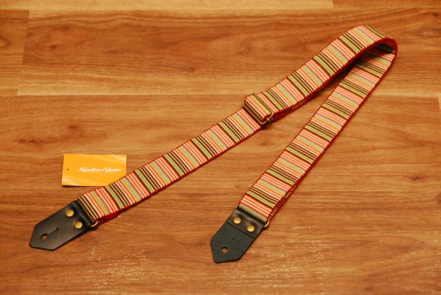 【ネコポス可能】Spice Note スパイスノート [ES-G40MB/ORG] Gevaert 40mmシリーズ Orange/ギターストラップ/オレンジ