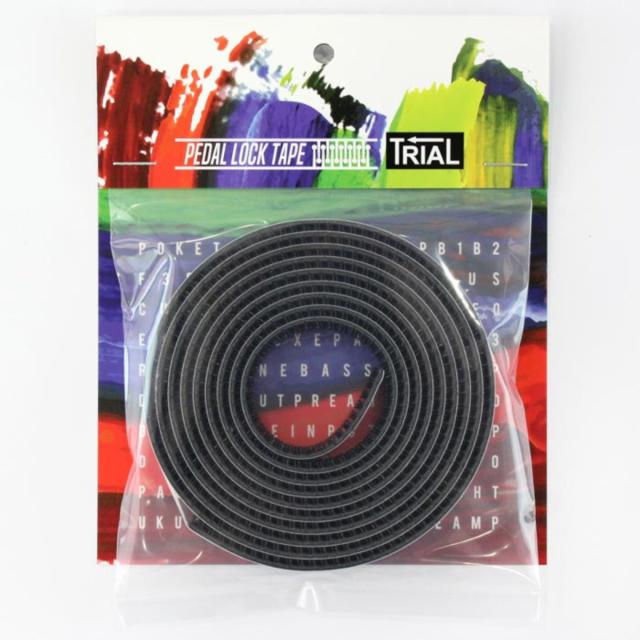 【ネコポス便で送料無料】TRIAL Pedal Lock Tape トライアル ペダルロックテープ エフェクターボードの構築に【即納可能♪】