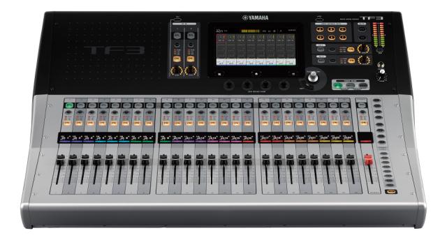 【専用ハードケースキャンペーン】【送料無料】YAMAHA TF3 Digital mixing console ヤマハ/デジタルミキサー/ハードケースは本体と別納です【代引き不可】