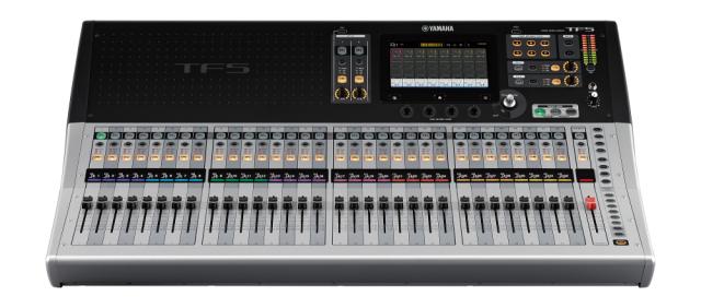 【専用ハードケースキャンペーン】【送料無料】YAMAHA TF5 Digital mixing console ヤマハ/デジタルミキサー/ハードケースは本体と別納です【代引き不可】