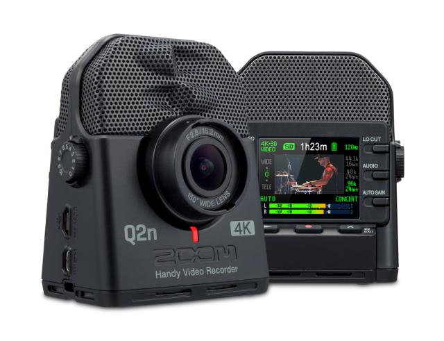 【即納OK♪】ZOOM ズーム Q2N-4K Handy Video Recorder ハンディ・ビデオ・レコーダー 4K録画 ハイレゾ録音 対応