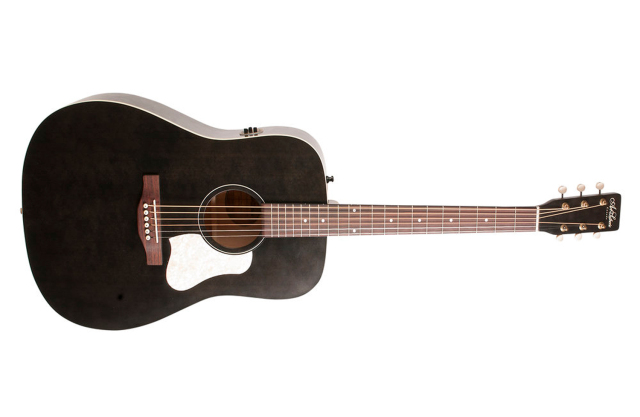 Art&Lutherie Americana Faded Black Q1T  エレアコギター ギグバッグ付属 アート&ルシアー【即納可能♪】