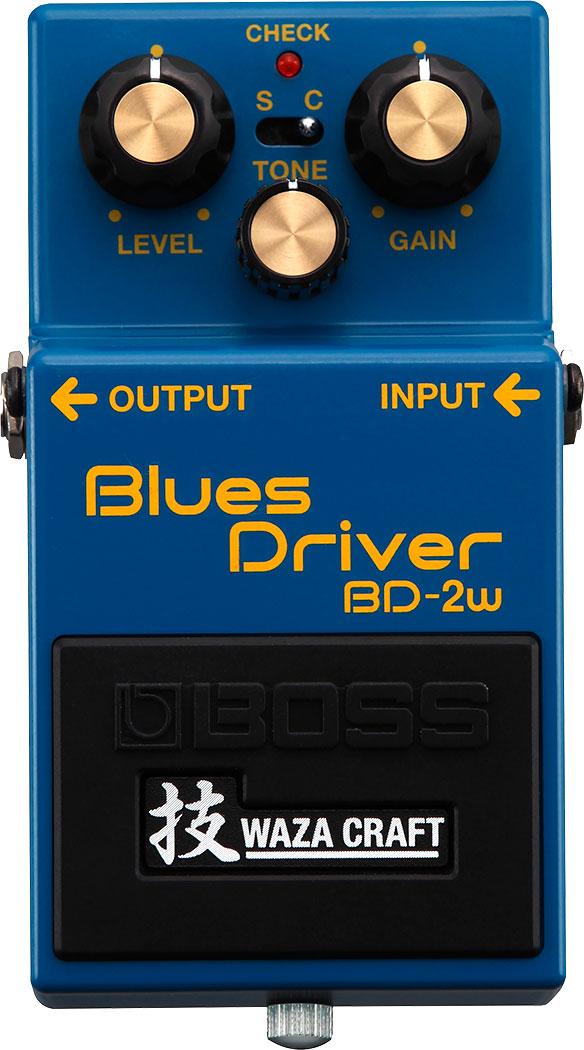 BOSS WAZA CRAFT《ボス 技クラフト》 BD-2W《Blues Driver》
