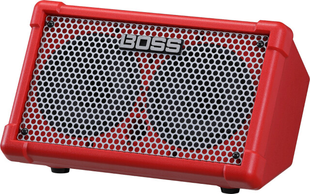 BOSS《ボス》 CUBE Street II Battery-Powered Stereo Amplifier 《キューブストリート》CUBE-ST2 RED