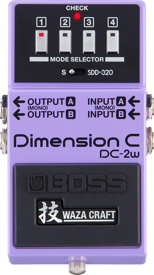 BOSS WAZA CRAFT《ボス 技クラフト》 DC-2W《Dimension C》