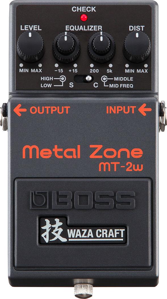 BOSS WAZA CRAFT《ボス 技クラフト》 MT-2W《Metal Zone》