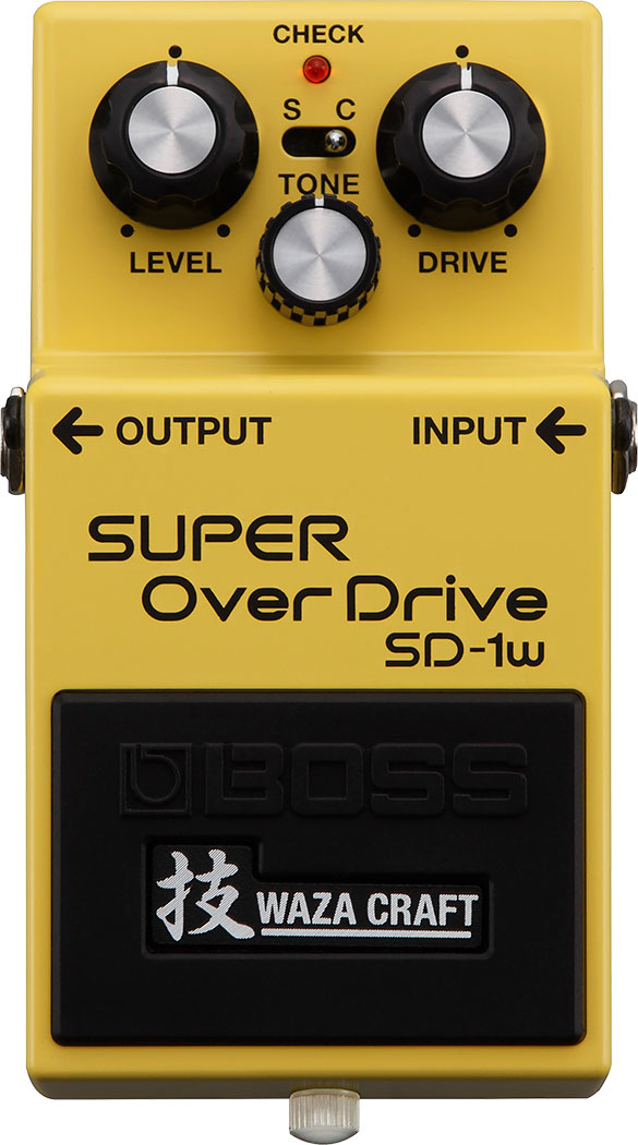 BOSS WAZA CRAFT《ボス 技クラフト》 SD-1W《SUPER Over Drive》