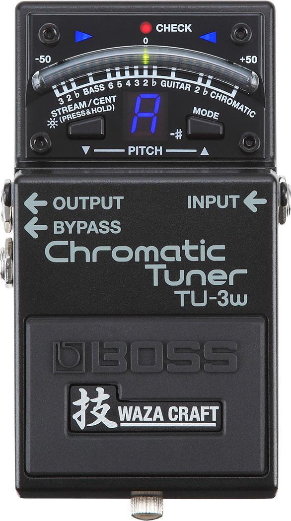 BOSS WAZA CRAFT《ボス 技クラフト》 TU-3W《Chromatic Tuner》