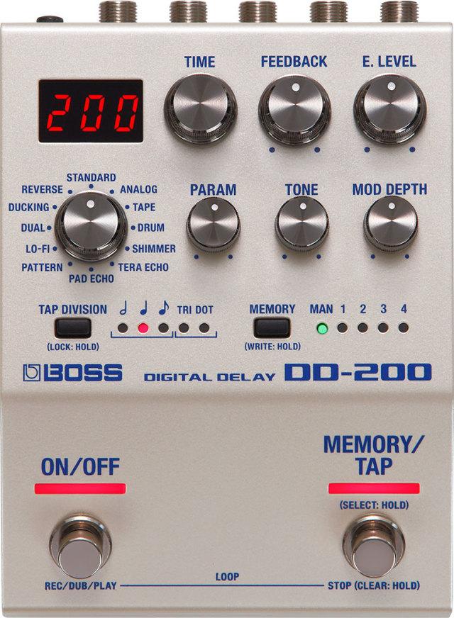 【送料無料】BOSS DD-200 Digital Delay ボス デジタ ディレイ 【即納可能♪】