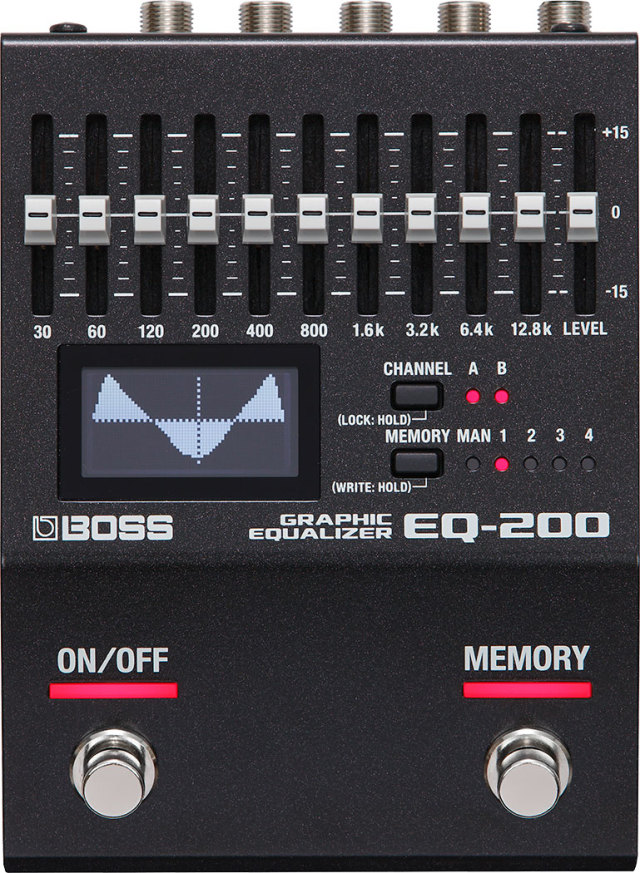 BOSS EQ-200 Graphic Equalizer ボス グラフィックイコライザー 【即納可能♪】