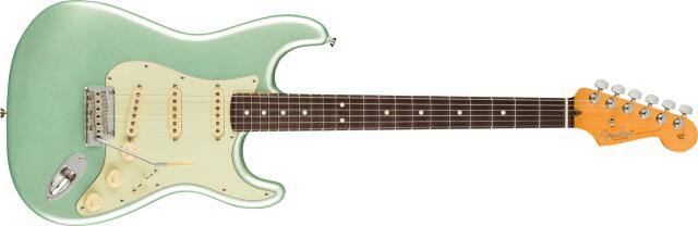 FENDER《フェンダー》American Professional II 《アメリカンプロフェッショナルII》 Stratocaster®, Rosewood Fingerboard, Mystic Surf Green