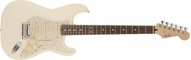 【送料無料】Made in Japan Modern Stratocaster, Rosewood Fingerboard, Olympic Pearl ≪フェンダー モダーン ストラト≫