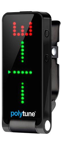 TC ELECTRONIC POLYTUNE CLIP BLACK クリップ チューナー ブラック【ネコポス便/ポスト投函でのお届けです。代引き不可です。】