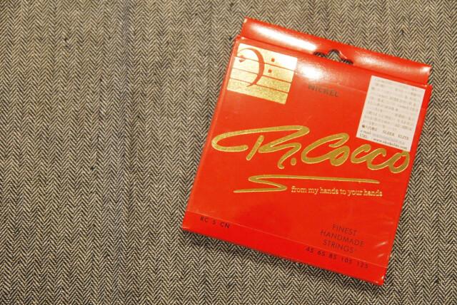 【ネコポス&即納可能♪】R.Cocco リチャードココ [RC5CN] .045-.125 NICKEL ROUND WOUND ベースセット弦/ニッケルラウンドワウンド/(Richard Cocco)【正規輸入品】