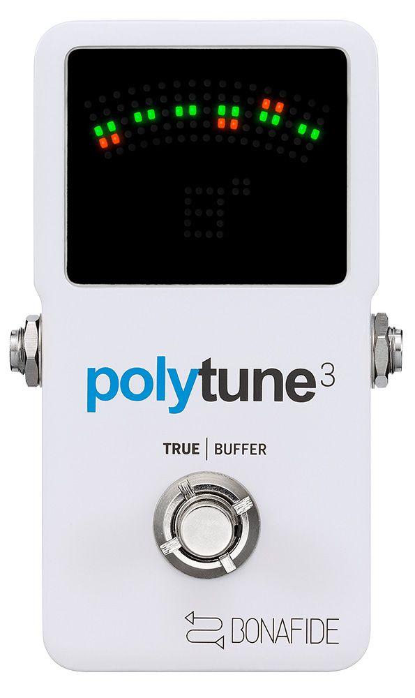 【新品】TC ELECTRONIC POLYTUNE 3 ポリーチューン 高品位バッファー内蔵
