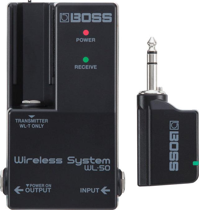 【送料無料】BOSS WL-50  ギターワイヤレスシステム [出荷までに3-4日いただきます]