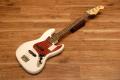 【送料無料】【チューナー付き】Fender フェンダー [5758600380] Made in Japan Hybrid 60's Jazz Bass® Rosewood AWH(Arctic White) ジャズベース/エレキベース/アークティックホワイト【正規品】
