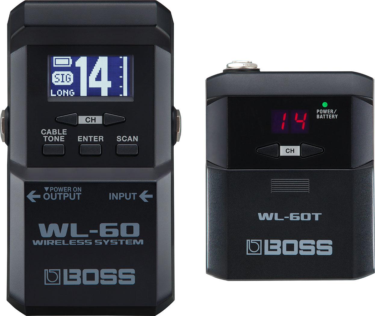 【送料無料】BOSS WL-60  ギターワイヤレスシステム [出荷までに3-4日いただきます]