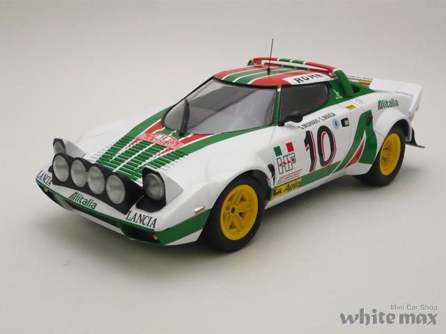 ミニチャンプス 1/18 ランチア ストラトス 1976 モンテカルロ ラリー No.10