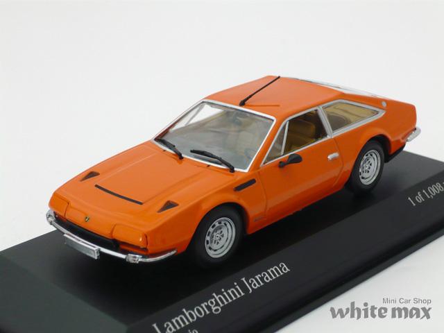 ミニチャンプス 1/43 ランボルギーニ ハラマ 1974 (オレンジ)