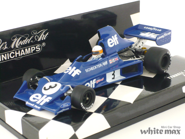 ミニチャンプス 1/43 ティレル フォード 007 1975 No.3 (J.Scheckter)