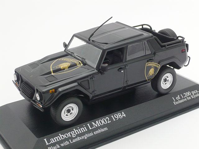 ミニチャンプス 1/43 ランボルギーニ LM 002 1984 (ブラック)