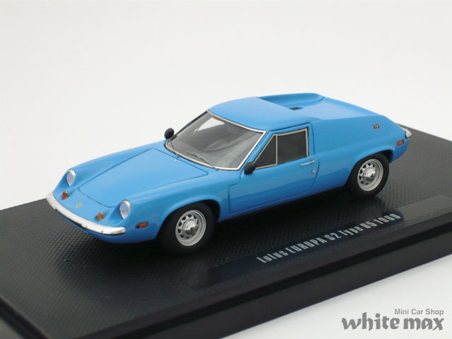 エブロ 1/43 ロータス ヨーロッパ S2 タイプ65 1969 (ブルー)