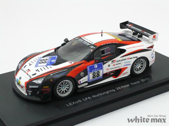 エブロ 1/43 レクサス LFA ニュル 24H レース 2011 No.88