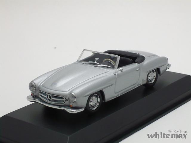 マキシチャンプス 1/43 メルセデス ベンツ 190 SL W121 1955 (シルバー)