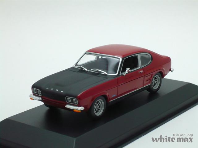 マキシチャンプス 1/43 フォード カプリ RS 1969 (レッド)