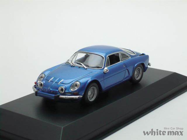 マキシチャンプス 1/43 ルノー アルピーヌ A110 1971 (ブルー)