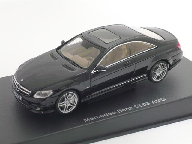オートアート 1/43 メルセデス ベンツ CL63 AMG (ブラック)