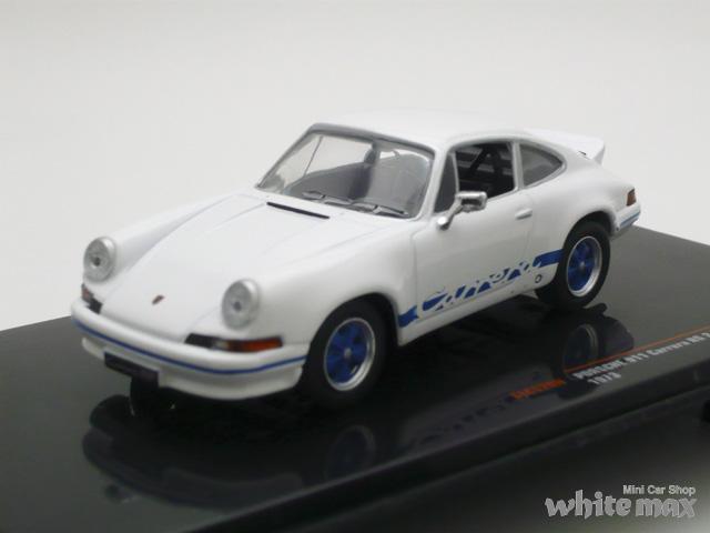 イクソ 1/43 ポルシェ 911 カレラ RS 2.7 1973 (ホワイト/ブルー)