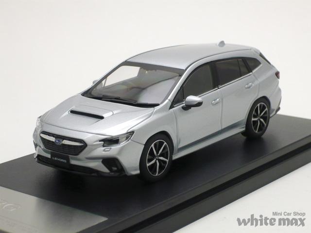 ハイストーリー 1/43 スバル レヴォーグ GT-H 2020 (アイスシルバーメタリック)