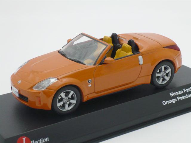 J-コレクション 1/43 ニッサン フェアレディ Z 2007 (オレンジ)