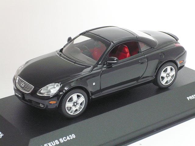 J-コレクション 1/43 レクサス SC430 クローズド ルーフ 2005 (ブラック)