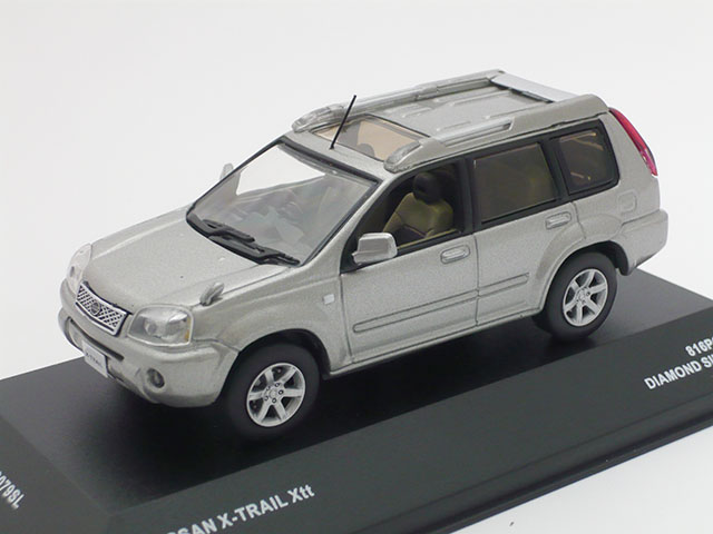 J-コレクション 1/43 ニッサン X-トレイル Xtt 2005 (シルバー)