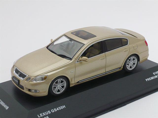 J-コレクション 1/43 レクサス GS450H 2006 (ベージュ)