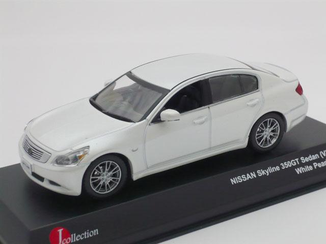 J-コレクション 1/43 ニッサン スカイライン 350GT セダン V36 2006 (ホワイトパール)