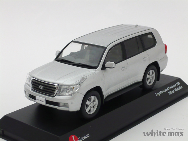 J-コレクション 1/43 トヨタ ランドクルーザー 200 (シルバーメタリック)