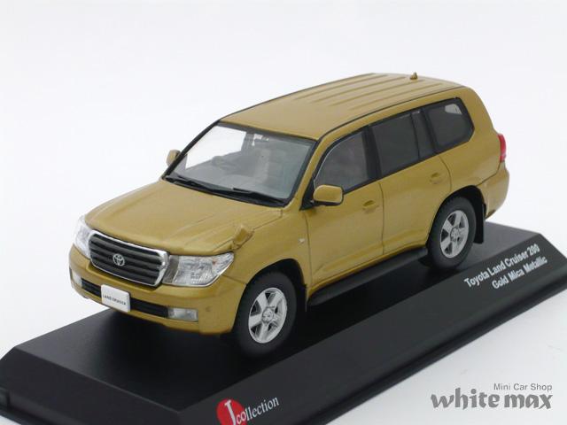 J-コレクション 1/43 トヨタ ランドクルーザー 200 (ゴールドメタリック)