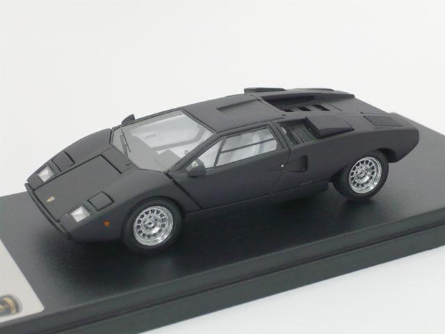京商 1/43 ランボルギーニ カウンタック LP400 (ブラック)