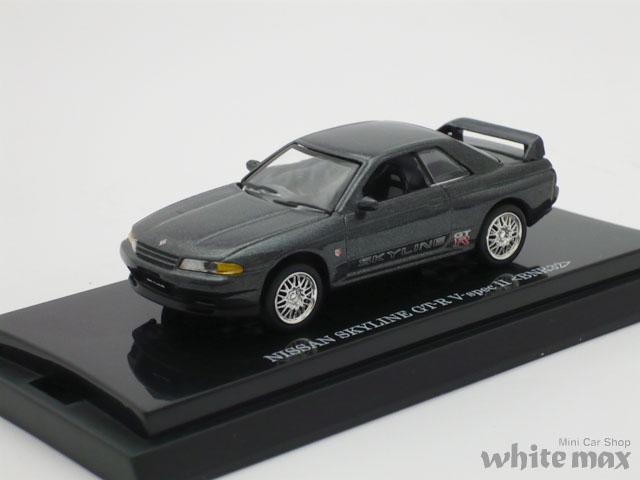 ビーズコレクション 1/64 ニッサン スカイライン GT-R BNR32 V-スペック II (ホワイトオプションステッカー)
