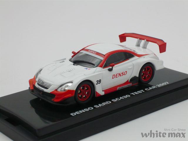 ビーズコレクション 1/64 デンソー サード SC430 テストカー 2007