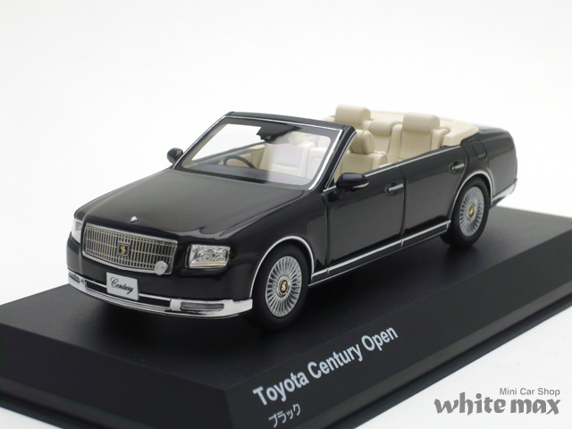京商 1/43 トヨタ センチュリー オープン (ブラック)