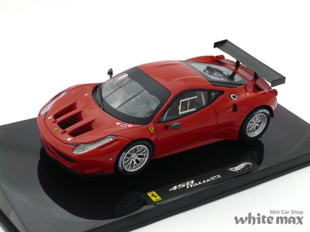 マテル 1/43 フェラーリ 458 Italia GT2 ランチバージョン (レッド)