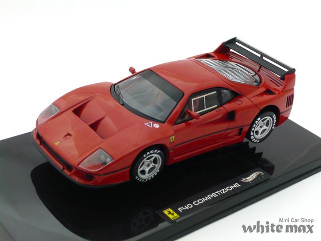 マテル 1/43 フェラーリ F40 コンペティション ランチバージョン (レッド)