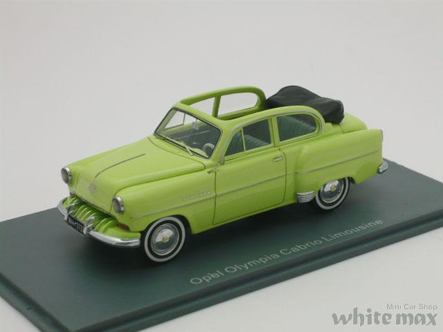 NEO 1/43 オペル オリンピア Limousine カブリオレ 1954 (グリーン)