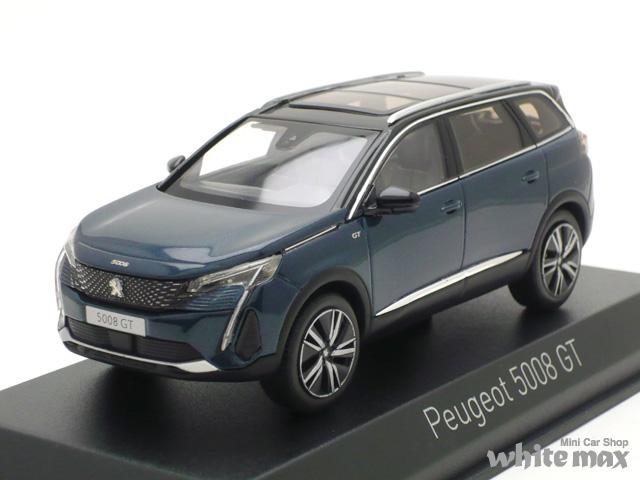 ノレブ 1/43 プジョー 5008 GT 2020 (セレベスブルー)
